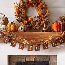 17 best images about 2016 fall diy on pinterest for Thanksgiving decorations ideas for office