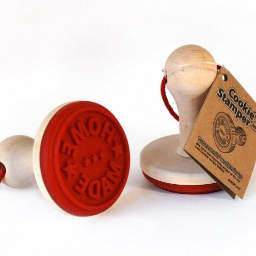 'Home Made' cookie stamp £10.00  http://www.englandathome.com/product/cookie-stamp/