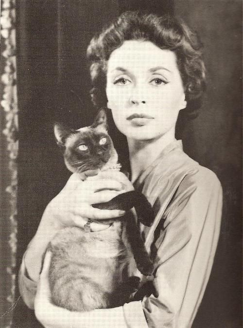 Lilli Palmer, German actress and writer. First marriage was to 1943-1957 actor Rex Harrison.