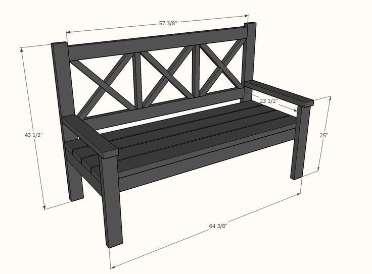 Lovely >> Great outside furnishings plans - DIY Crafts Weblog...