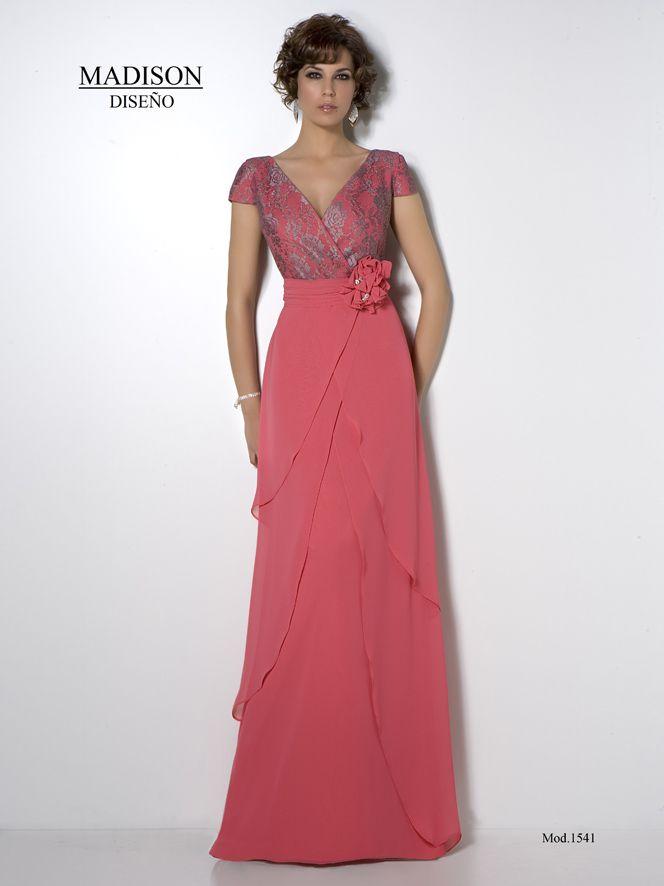 Vestido de madrina, #madison #wedding #fashion #dresses #madrinas #bodas www.grupo-madison...