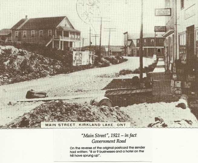 Government Road 1921