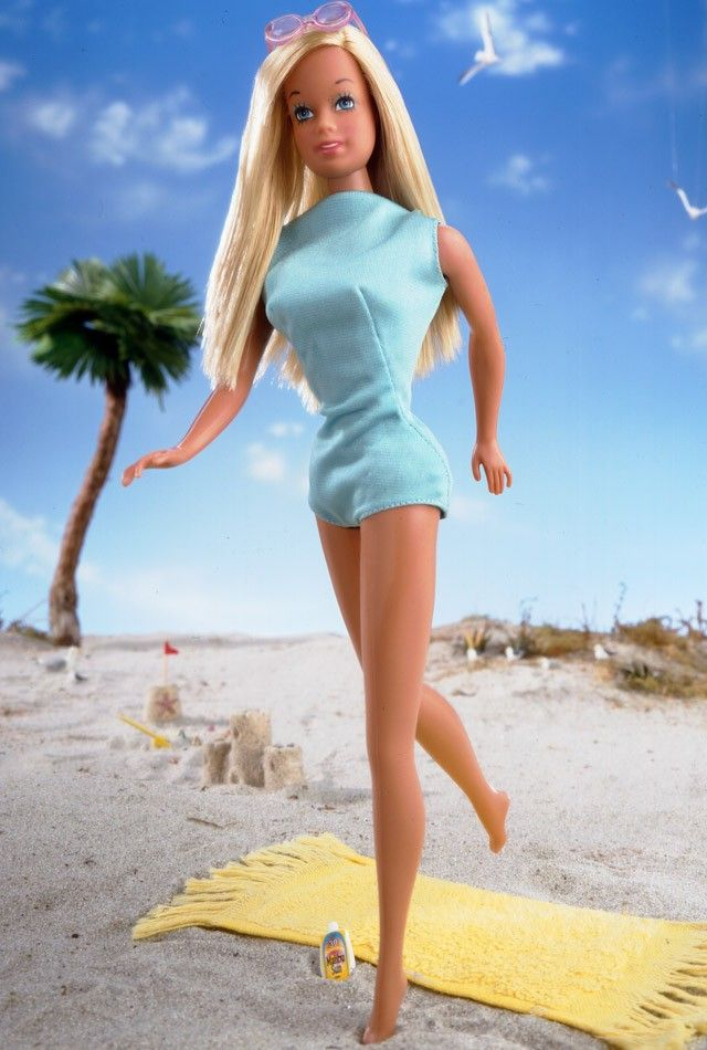 Malibu Barbie® Doll | Release Date: 5/1/2002. She taught you all about fun in the sun with her cool West Coast attitude. Now the quintessential California girl is back! A wonderful reproduction of the 1971 doll,