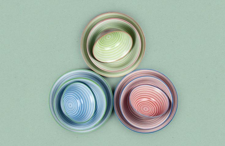Sendan Japanese Tableware Set - Nendo