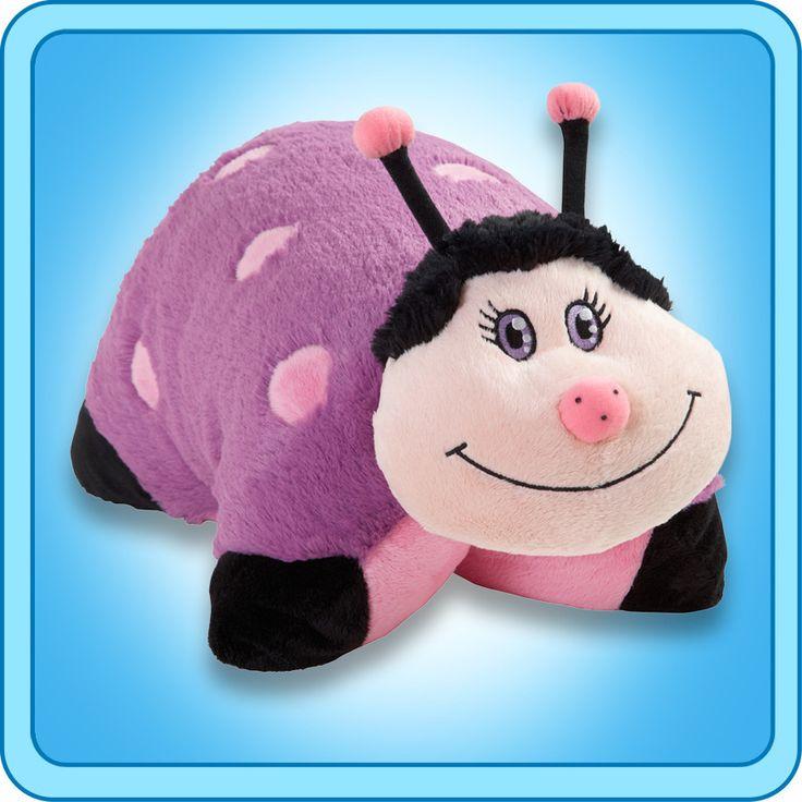 PeeWee Purple Ladybug | My Pillow Pets® Canada
