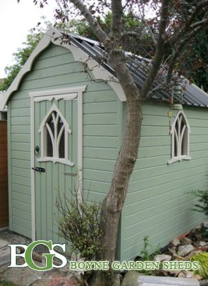 dezign wuud: Looking for Irish garden shed plans