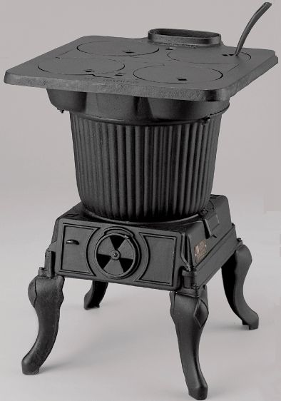 Small RV Wood Stoves | Cast Iron The Rancher™ Cast Iron Cook Stove