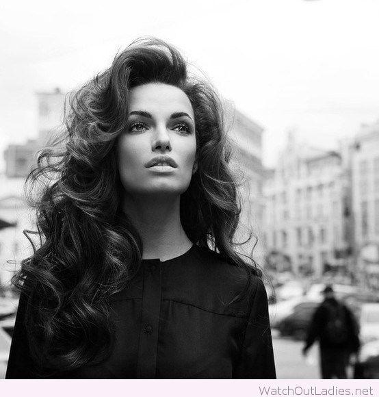 Wonderful voluminous curls