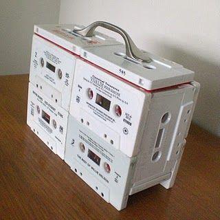 Fitas Cassetes Reaproveitadas
