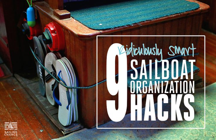 Smart storage solutions for your sailboat or tiny home.
