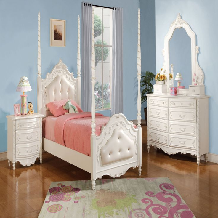 White Princess Bedroom Set - Cheap Bedroom Makeover Ideas Check more at http://maliceauxmerveilles.com/white-princess-bedroom-set/