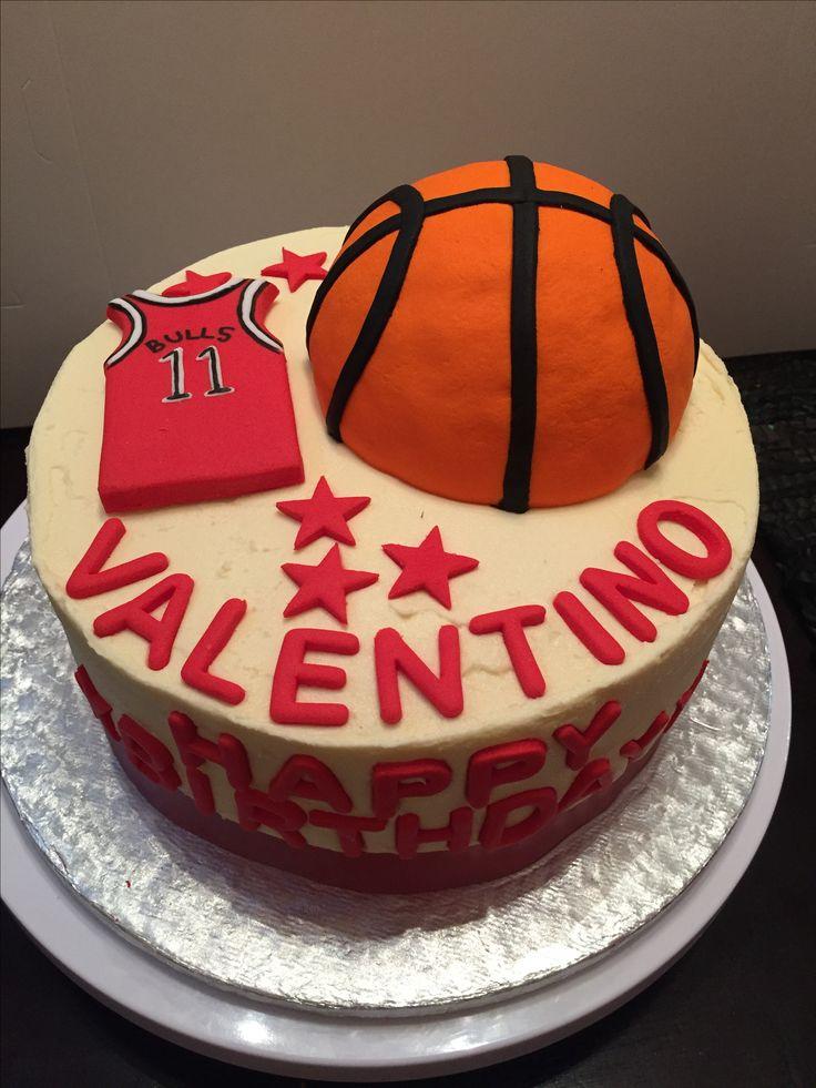 Basketball cake Chicago Bulls