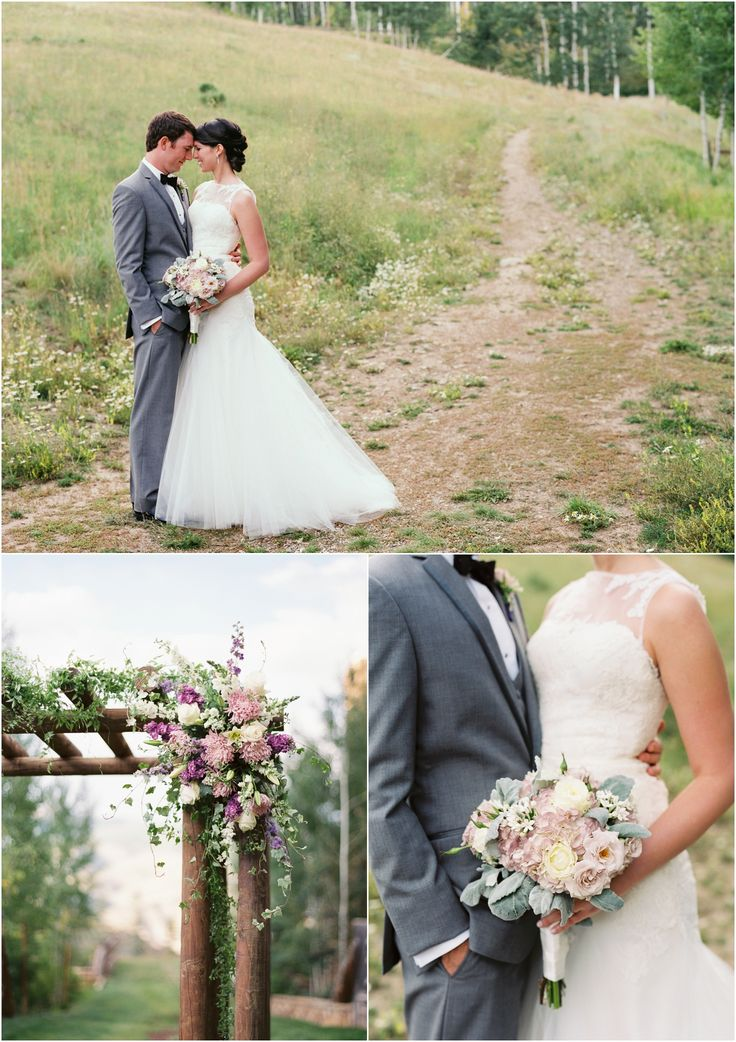 Lovely Flowers At This Mountain Wedding The Ritz Carlton Bachelor Gulch In Beaver Creek