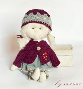 polandhandmade.pl #bymamastudio #doll #softdoll #pippi Lalka- bymama studio