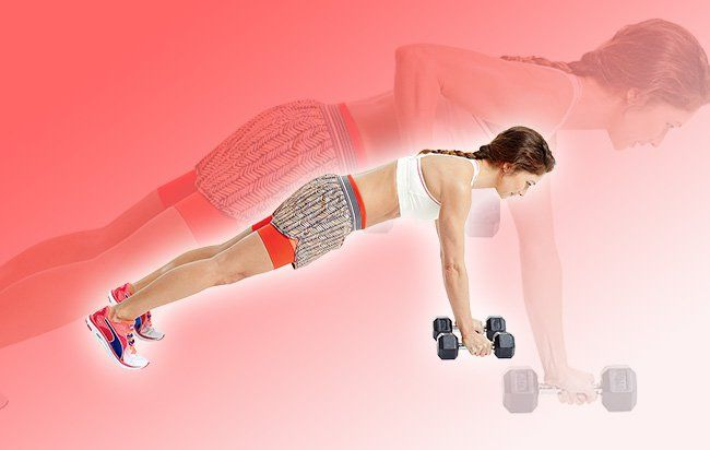Dumbbell Suitcase Deadlift  http://www.womenshealthmag.com/fitness/double-down-workout
