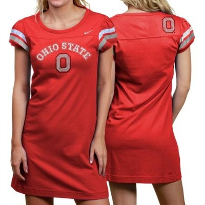 Nike Ohio State Buckeyes Ladies Scarlet Know Your Team Sundress