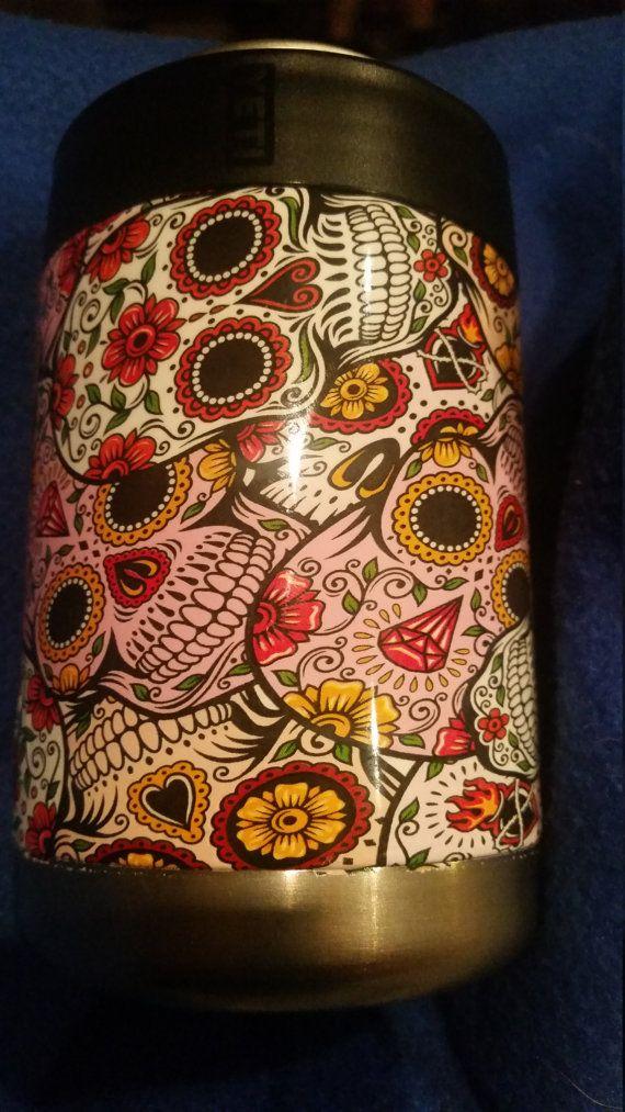 Bästa Bilderna Om Yeti Cups På Pinterest Zebramönstrat - Sugar skull yeti cup