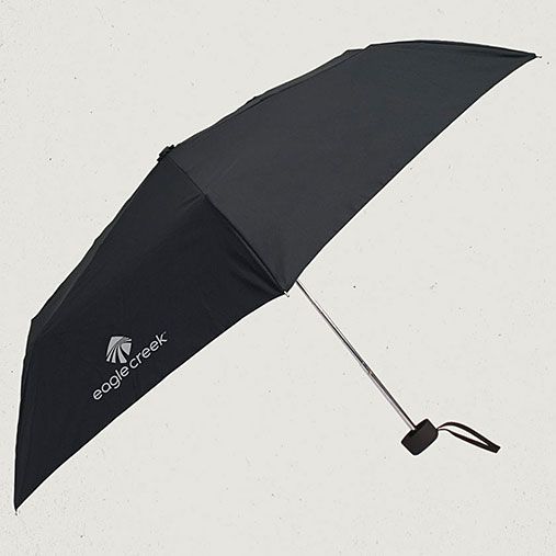 Eagle Creek Official Store, Rain Away Travel Umbrella, black, Travel Essentials, EC-51320