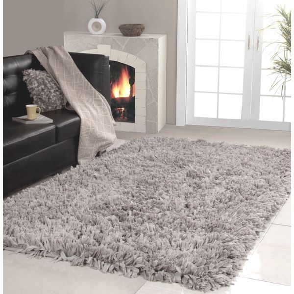 Affinity Home Collection Cozy Shag Area Rug 5 X
