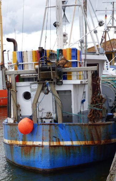 rostiges Fischerboot, Flensburg - Foto: S. Hopp