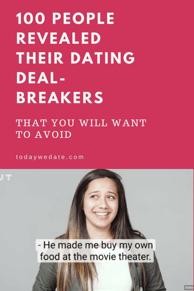 dating deal breakers funny | ABS-Teppichreinigung