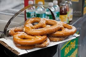 And let's not forget the legendary pretzel