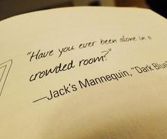 Jacks Mannequin...Dark Blue