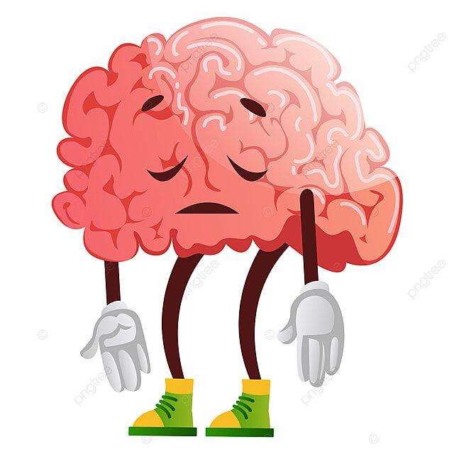 Gambar Otak Adalah Vektor Ilustrasi Sedih Dengan Latar Belakang Putih Clipart Otak Vektor Pintar Png Dan Vektor Dengan Latar Belakang Transparan Untuk Unduh Ilustrator Latar Belakang Putih Ilustrasi