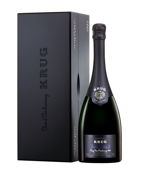 Krug Champagne. PD Wrapped pillow pack curve thumb holes ?!