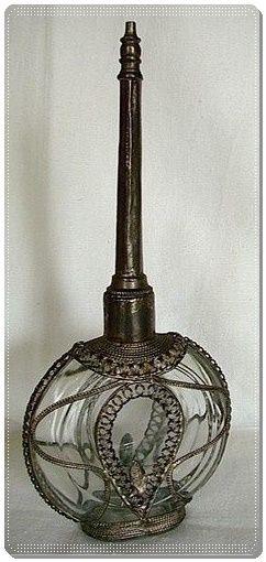 Fransız antika  parfüm şişesi