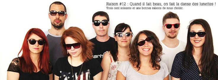 Raison 12 : #sun #summer #sunglasses