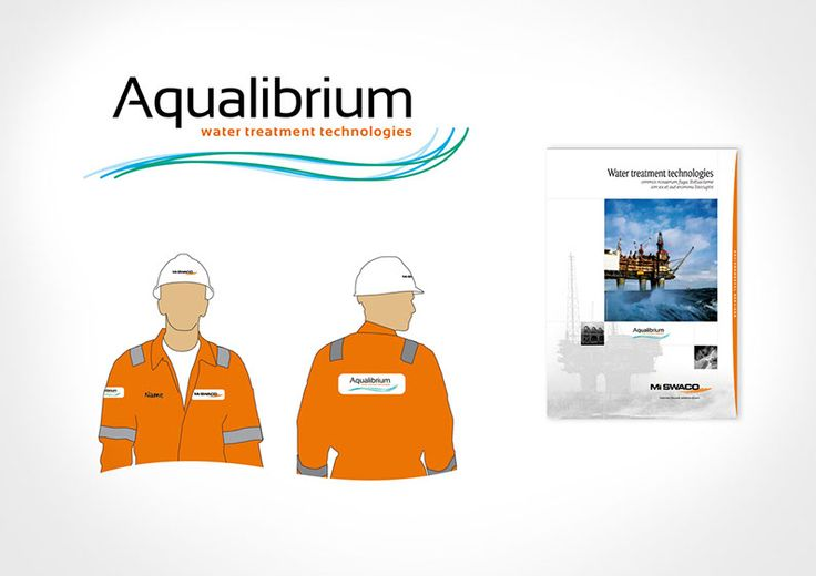 Sub Branding The brief was to create a logo that would promote a new water treatment technology which sits under the Mi Swaco brand. A range of options were produced for Aqualibrium and the chosen option featured below was used. The lock up need to sit comfortably within the Oil and Gas sector and portray a stead fast professionalism.