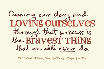 True say.Brene Brown, Wholehearted Living, Bravest Things, Stories, Inspiration, Brenebrown, Be Brave, Brown Quotes, Brené Brown