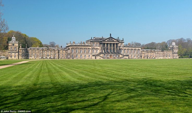 The massive mansion has an estimated 350 rooms - but it is so big no-one knows the exact n...