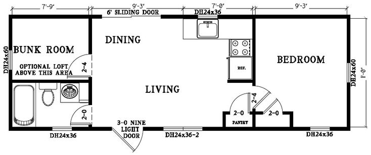 Grizzley park add l shaped counter in kitchen for food prep add optional w d and loft for Park model floor plans 2 bedroom