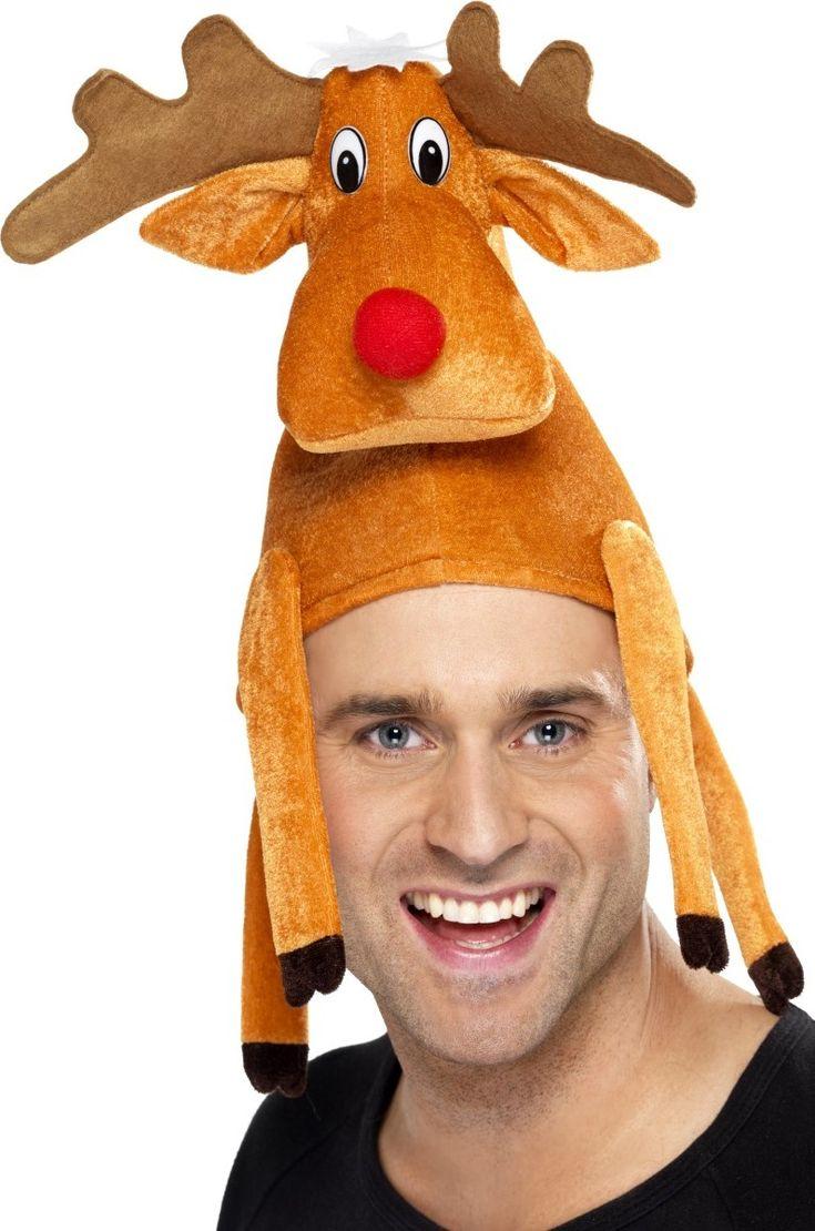 Cappello renna adulto