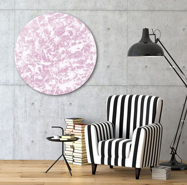 Discover «Chaos Blue! pink», Exclusive Edition Disk Print by gasponce - From 80€ - Curioos