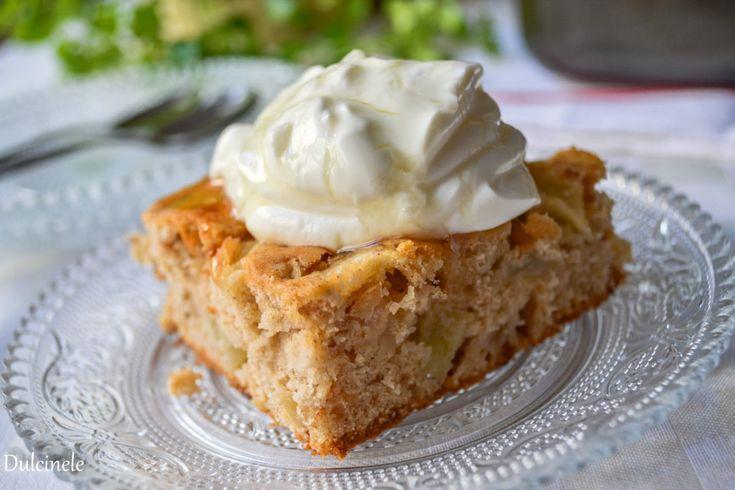 Prajitura cu mere - Apple cake