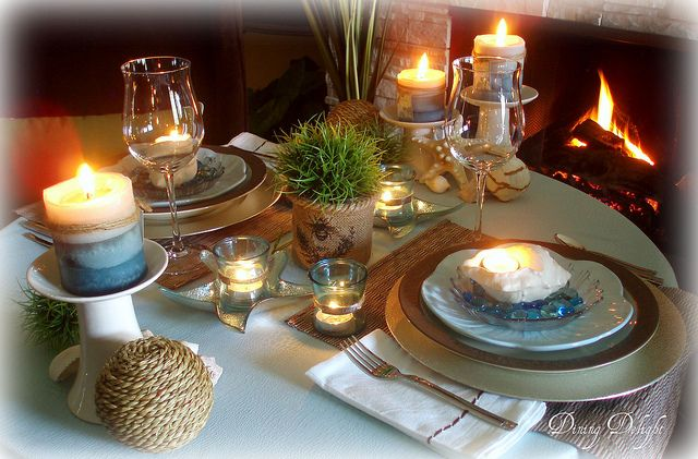 Seaside by the Fireside by dining delight, via Flickr