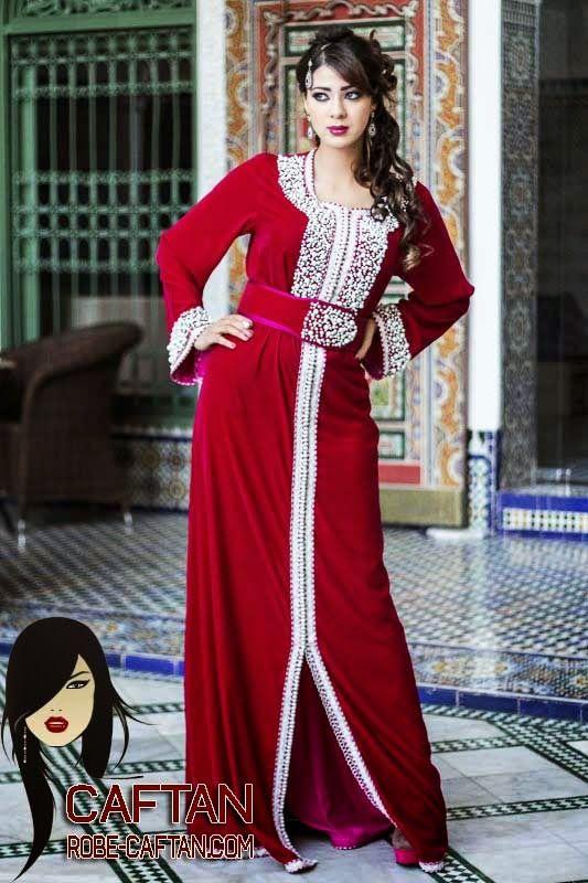 Caftan marocain de haute couture crée pour vous chère cliente notre obsession c'est que vous soyez à la hauteur, et très attrayante avec un caftan marocain 2015 qui tient les yeux de chaque personne qu'il le voit.
