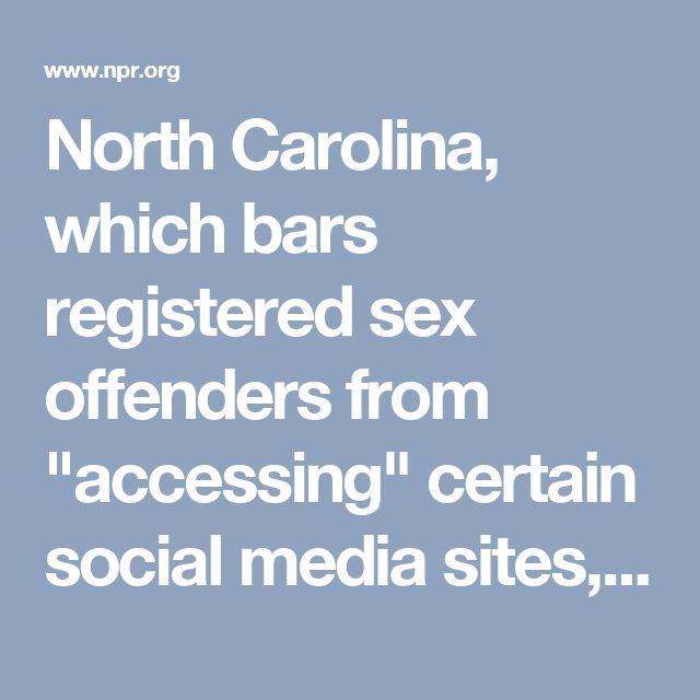 north carolina sex offender laws
