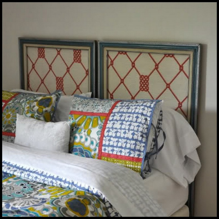 Best 25 picture frame headboard ideas on pinterest art for Arts and crafts headboard