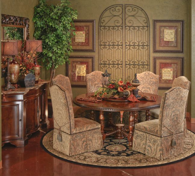 Hemispheres Furniture Store Dragonbase Round Dining By Clearwater