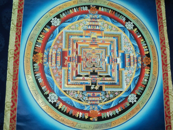 A Buddhist Wheel of the Universe