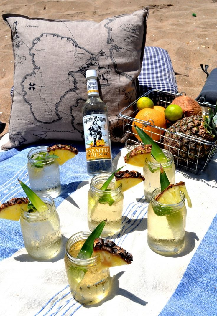 how to drink captain morgan pineapple