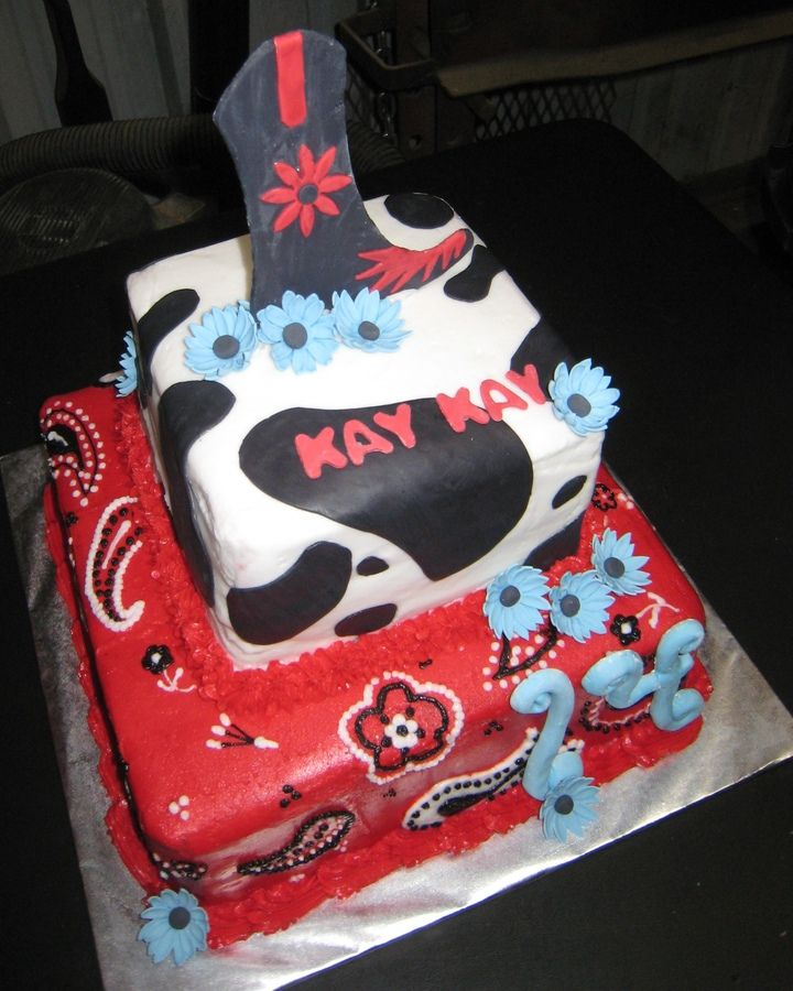 Nail Cake Blue Black Splodges Cow Print: 17 Best Images About Cake Decorating On Pinterest