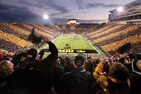 Kinnick stadium Iowa City, Iowa.  Wonderful way to spend a weekend with family and friends.   Love spending fall days supporting the Hawkeyes.