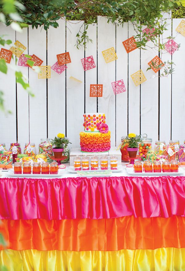 157 best Pink and Orange Birthday Party images on Pinterest Candy