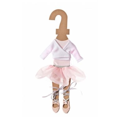 Laloushka - Ubranko dla Lalki Baletnica Różowa