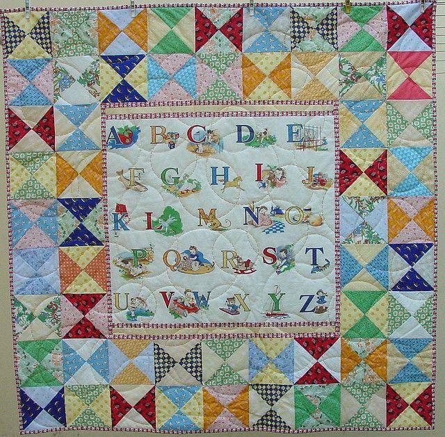 Alphabet Quilting Patterns : 1000+ images about alphabet quilts on Pinterest Antiques, Fat quarters and Shops